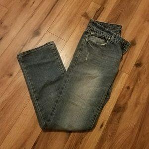 Rue 21 Carbon Men's Low Rise Slim Straight Jeans